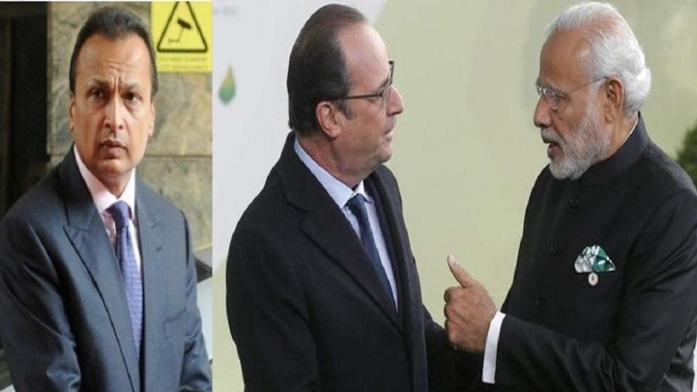 राफेल पर फ्रांस के पूर्व राष्ट्रपति का बड़ा खुलासा, अनिल अंबानी का नाम दिया गया, हमने नहीं चुना