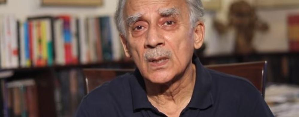 पूर्व केंद्रीय मंत्री और वरिष्ठ पत्रकार अरुण शौरी