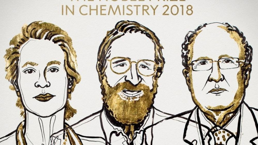 3 वैज्ञानिकों को रसायन शास्त्र के क्षेत्र में मिला नोबेल पुरस्कार