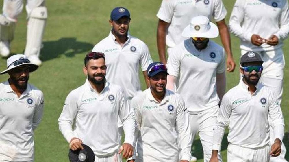 टेस्ट इतिहास में भारत की सबसे बड़ी जीत, राजकोट में विंडीज को पारी और 272 रनों से हराया