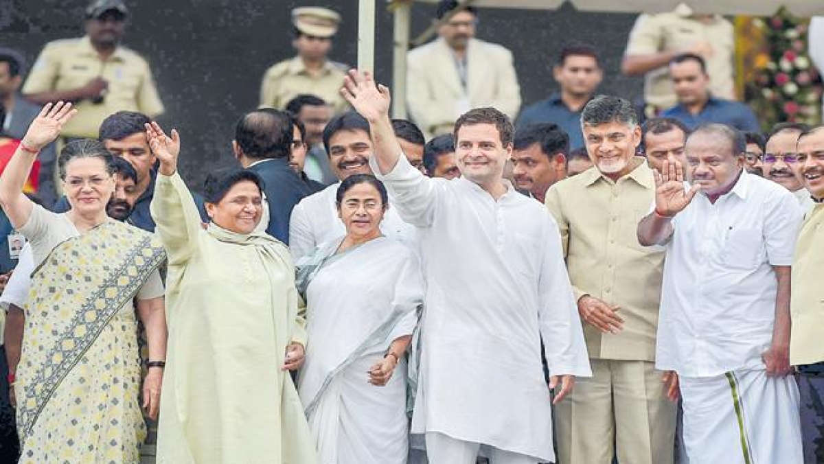 तीन बड़े हिंदी भाषी राज्यों में आज से कांग्रेस का शासन, एमपी में कमलनाथ का शपथ समारोह बनेगा विपक्षी एकता का मंच