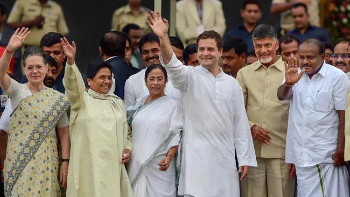 लोकसभा चुनाव 2019ः कोलकाता में महागठबंधन के ट्रेलर से बेचैन बीजेपी, हार की आशंका से भगवा खेमे में हड़कंप