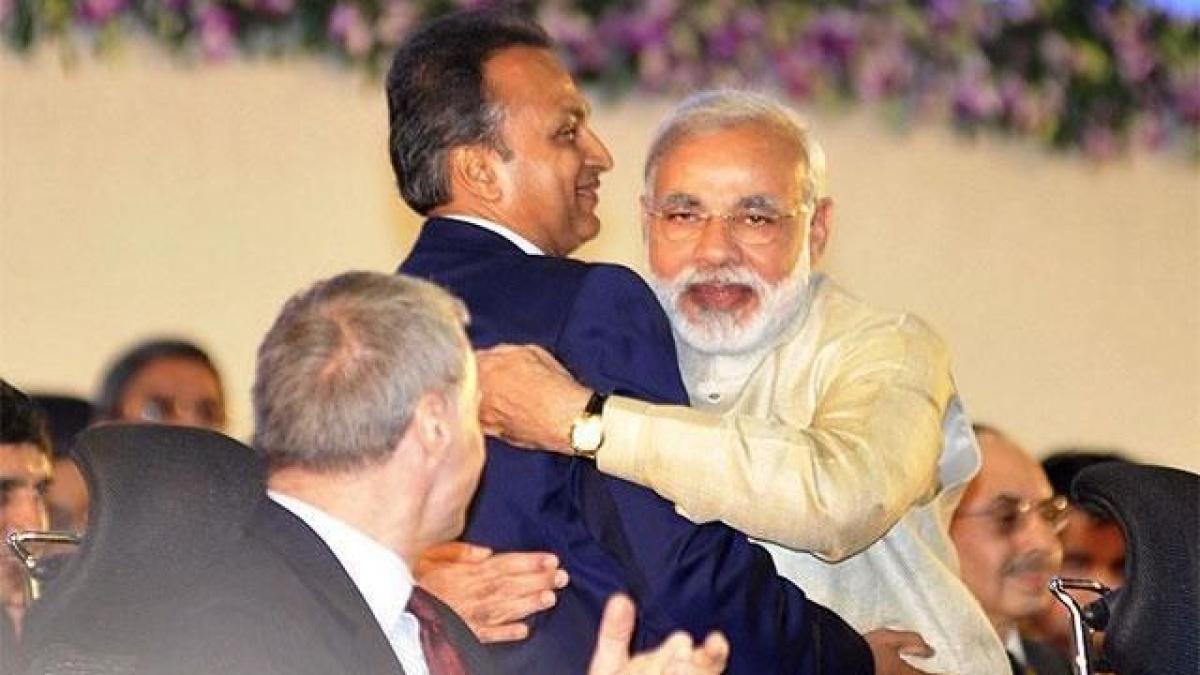 वाइब्रैंट गुजरात में इस बार मोदी संग नहीं दिखेंगे राफेल के इंडियन ठेकेदार अनिल अंबानी, नहीं मिला  न्योता