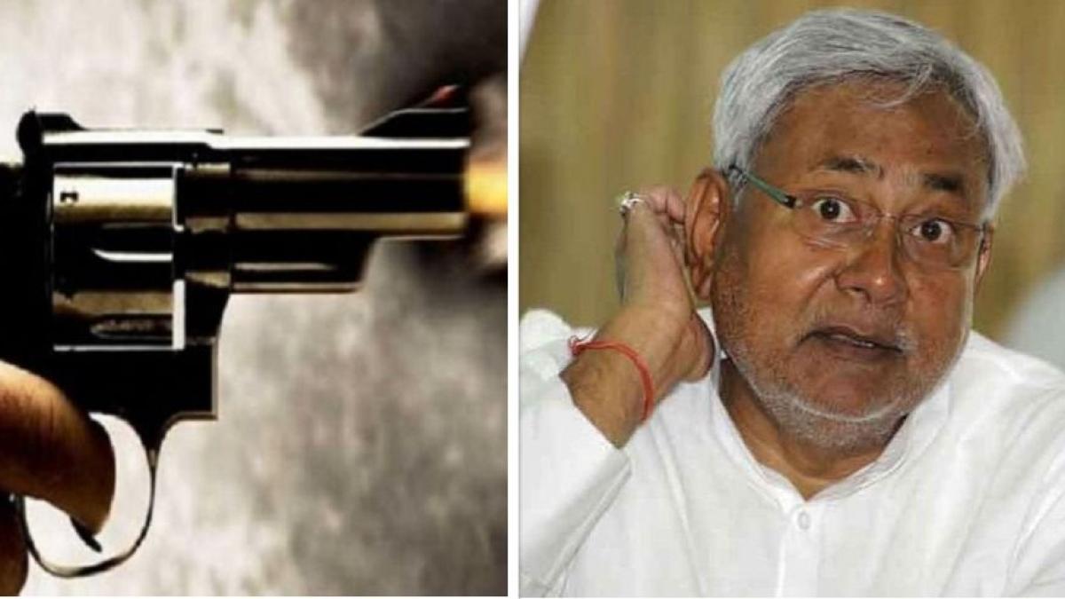 'सुशासन बाबू' के राज में बीजेपी नेता भी सुरक्षित नहीं, औरंगाबाद में बीजेपी नेता की गोली मारकर हत्या