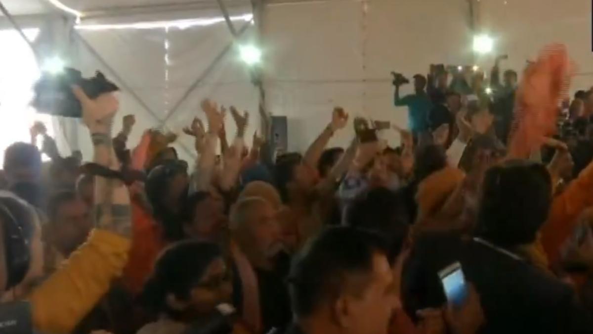 वीडियो: वीएचपी की धर्म संसद में संघ प्रमुख मोहन भागवत का विरोध, 'मंदिर बनाओ, या वापस जाओ' के लगे नारे