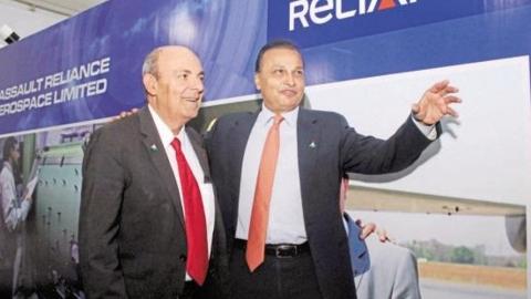 Image result for राफेल सौदा होते ही फ्रांस ने कर दिया था अनिल अंबानी का ₹1052 करोड़