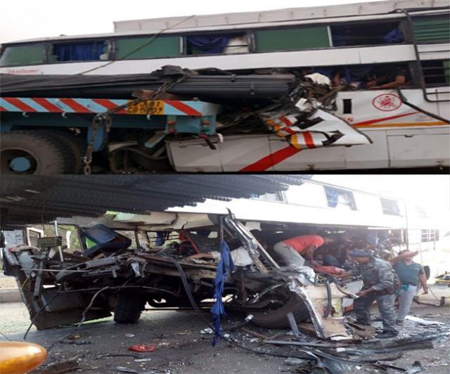 झारखंड: हजारीबाग में भीषण सड़क हादसा, 11 लोगों की मौत, 25 घायल, कई लोगों के हालात गंभीर