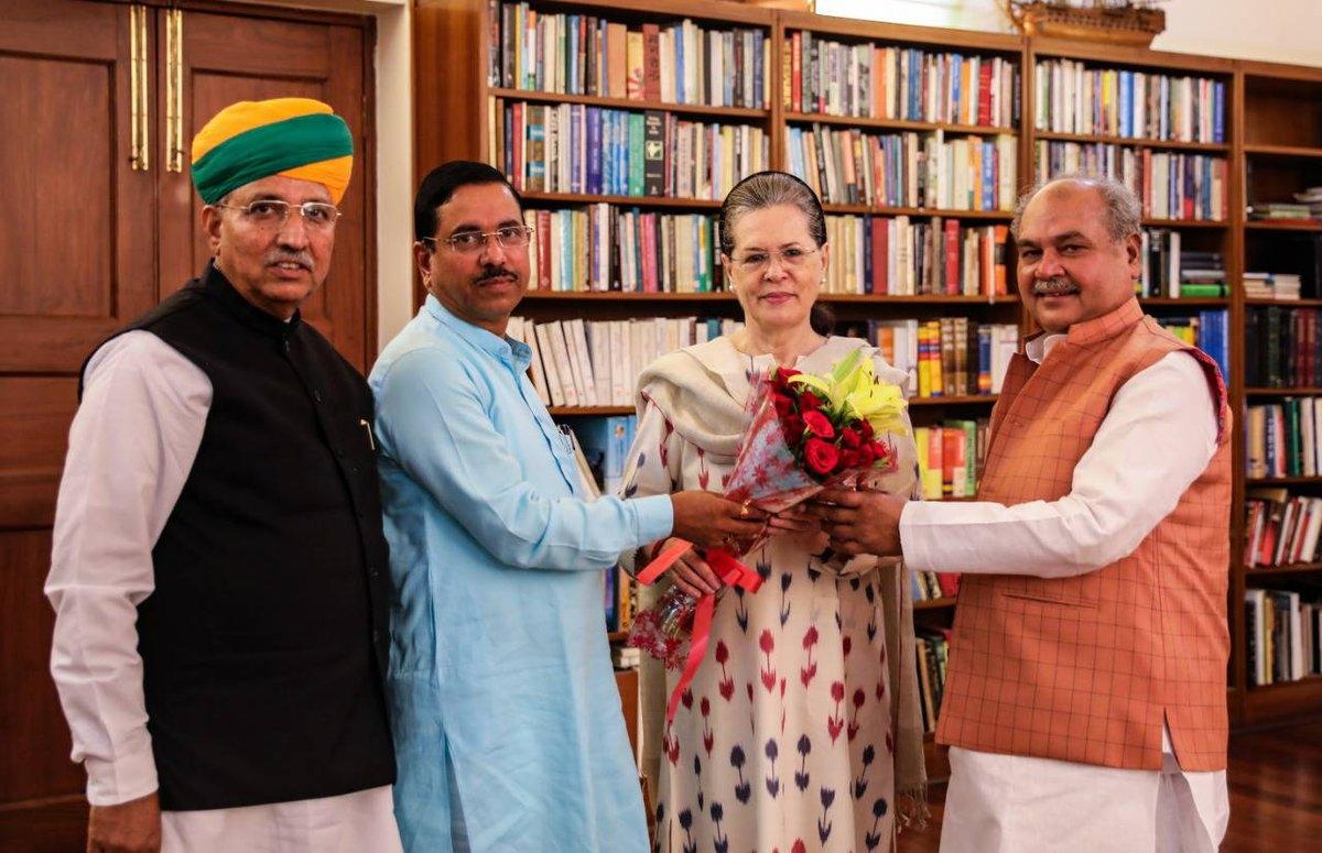 सोनिया गांधी से मिले मोदी के मंत्री, वायनाड दौरे पर राहुल गांधी, तस्वीरों में देखें कई और खबरें