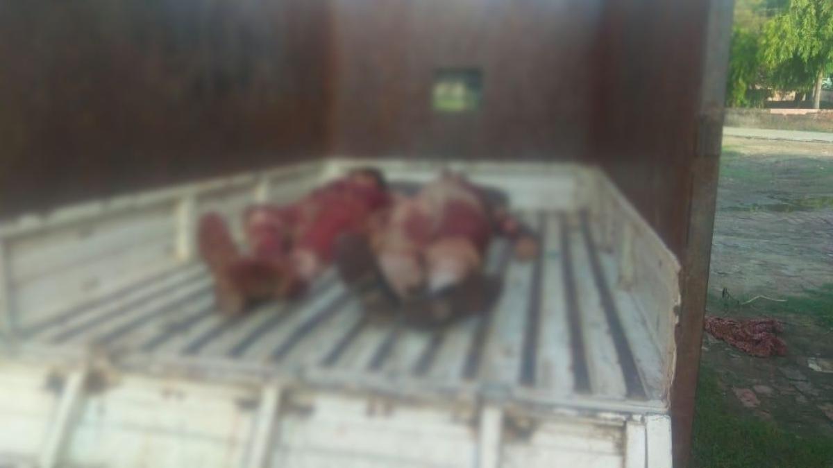 यूपीः योगी के 'एनकाउंटर राज' में अपराधियों का दुस्साहस कायम, दो पुलिसवालों की हत्या कर फरार हुए तीन बदमाश