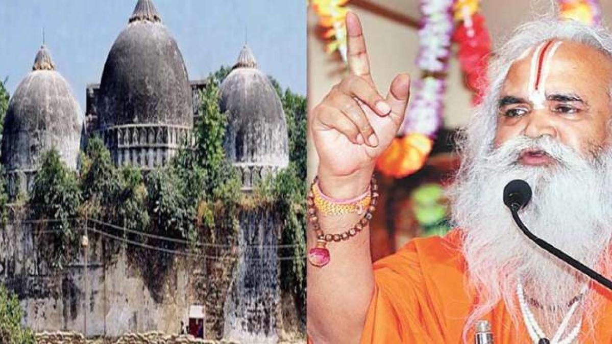 राम मंदिर पर वेदांती का बड़ा बयान, कहा- अयोध्या में दुनिया की कोई भी ताकत नहीं बनवा सकती मस्जिद