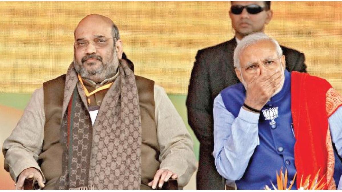 नरेंद्र मोदी की दूसरी पारी में अमित ही हैं 'शाह', बीजेपी में पीएम के 'मन की बात' तक नहीं सुनता कोई
