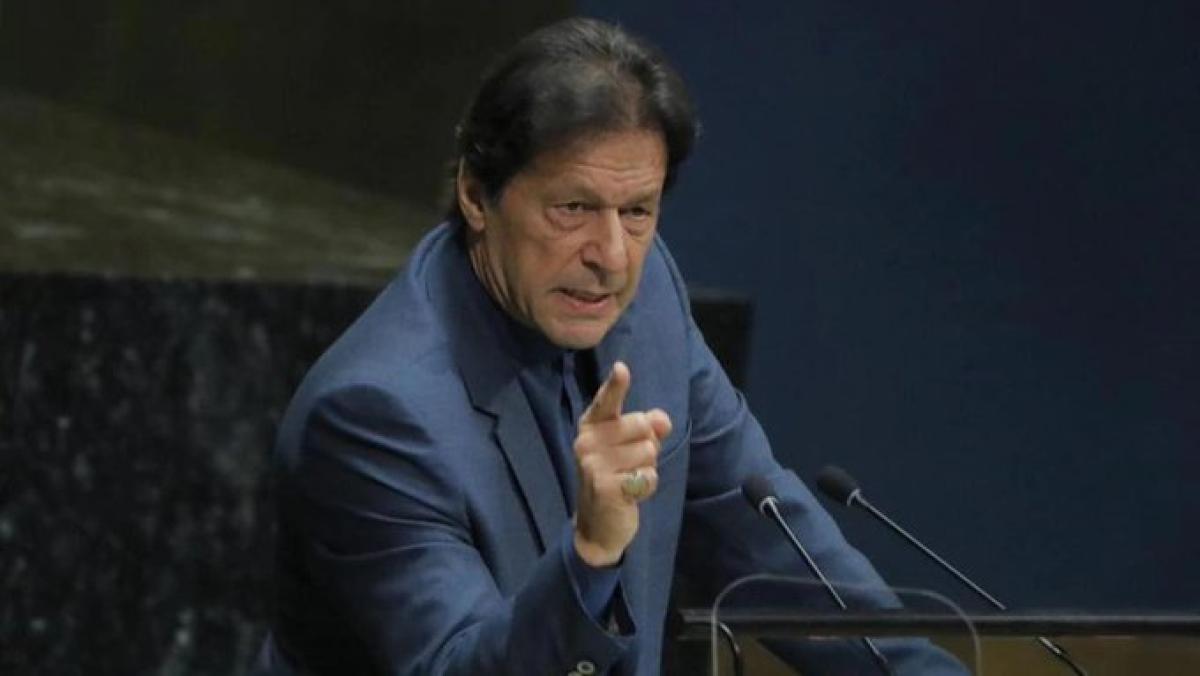 पाकिस्तान ने UNGA में अलापा कश्मीर राग, बौखलाहट में बोले इमरान- कर्फ्यू हटते ही होगा कश्मीर में खून-खराबा