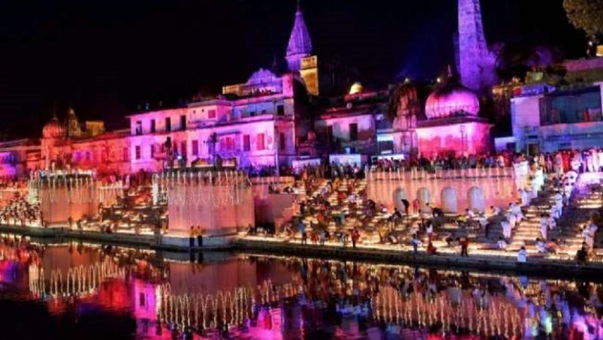 छह लाख से ज्यादा दीयों की रोशनी में नहाई रामनगरी अयोध्या, बना रिकॉर्ड