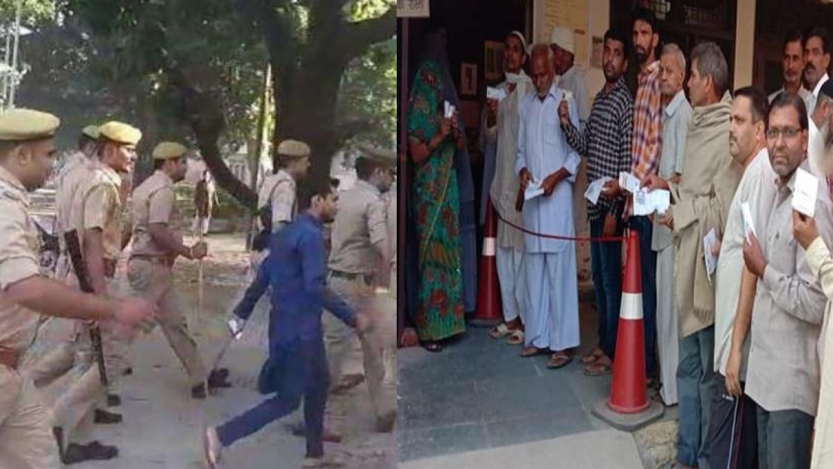 उत्तर प्रदेश उपचुनाव: आजम खान के घर के पास पकड़े गए फर्जी बूथ एजेंट, हिरासत में लेकर पुलिस कर रही पूछताछ