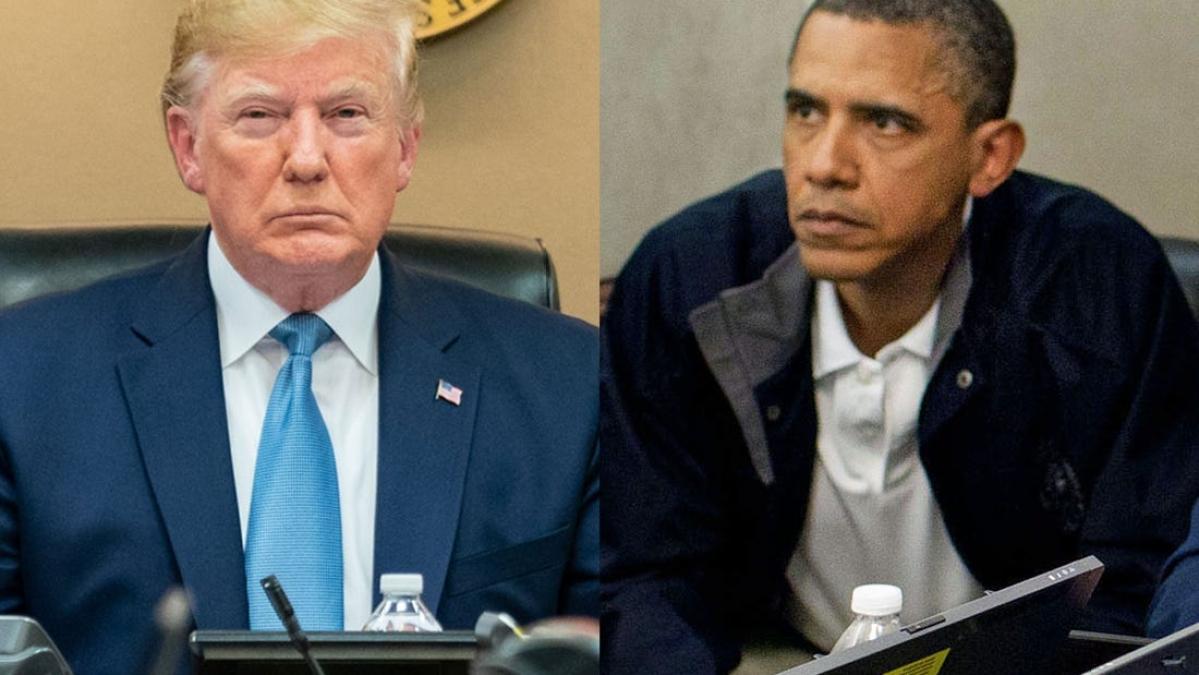 ट्रंप और ओबामा की इन तस्वीरों की हो रही तुलना, जानिए बगदादी और ओसामा से क्या है इसका कनेक्शन