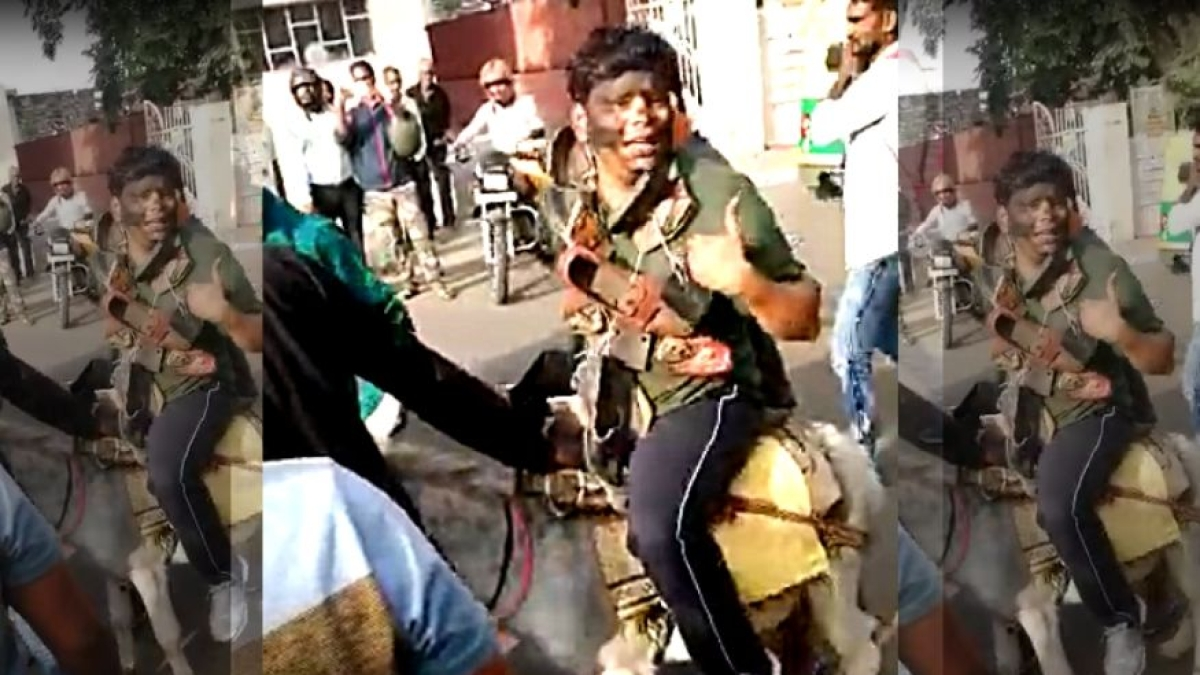 वीडियो: BSP कार्यकर्ताओं ने जयपुर में पार्टी के राष्ट्रीय संयोजक, पूर्व राज्य प्रभारी का मुंह काला कर घुमाया