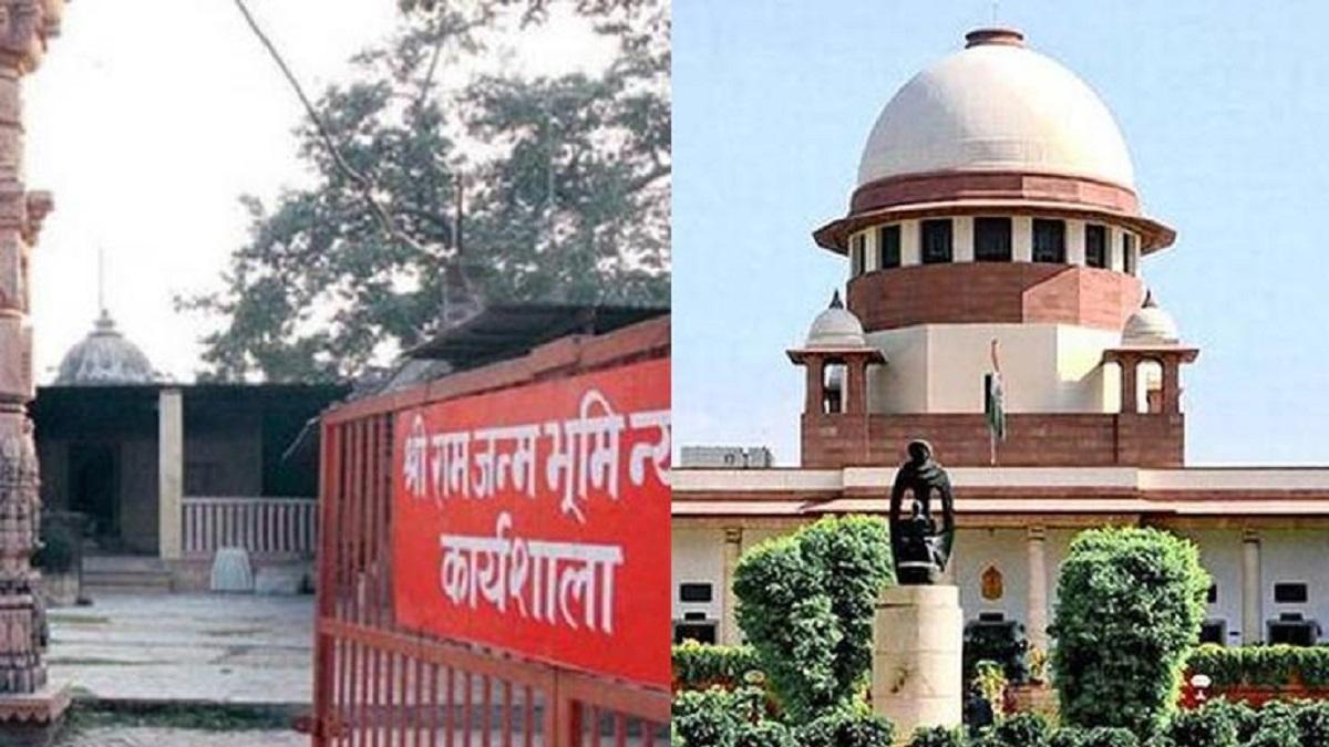 अयोध्या केस: सुप्रीम कोर्ट में ऐसा क्या हुआ कि मुस्लिम पक्ष के वकील ने फाड़ा राम मंदिर का नक्शा, भड़के सीजेआई