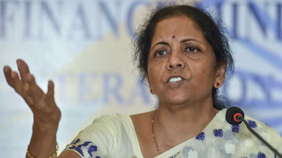 आखिरकार वित्त मंत्री निर्मला सीतारमण ने भी माना- मुश्किल दौर से गुजर रही है भारतीय अर्थव्यवस्था