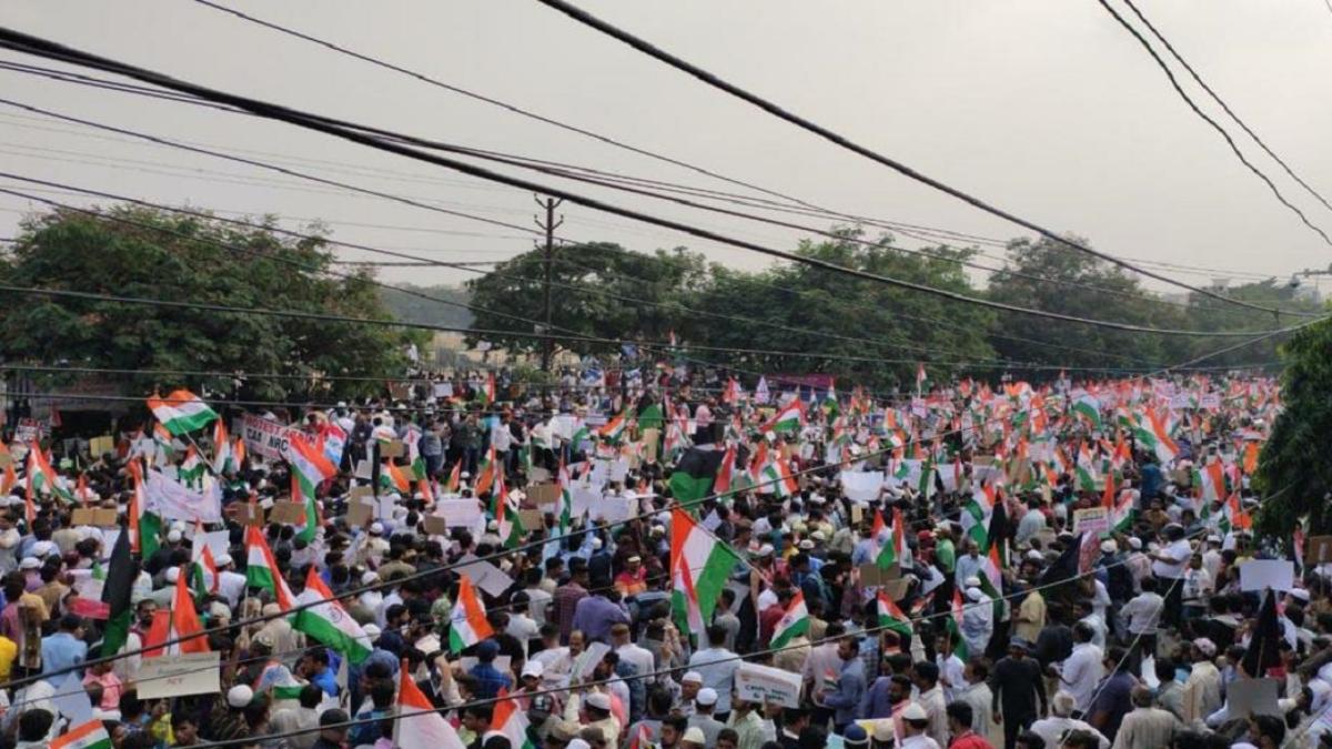 CAA Protests: तमाम साजिशों के बावजूद नहीं बदला विरोध का स्वरूप, बीजेपी-संघ का पूरा दुष्प्रचार विफल