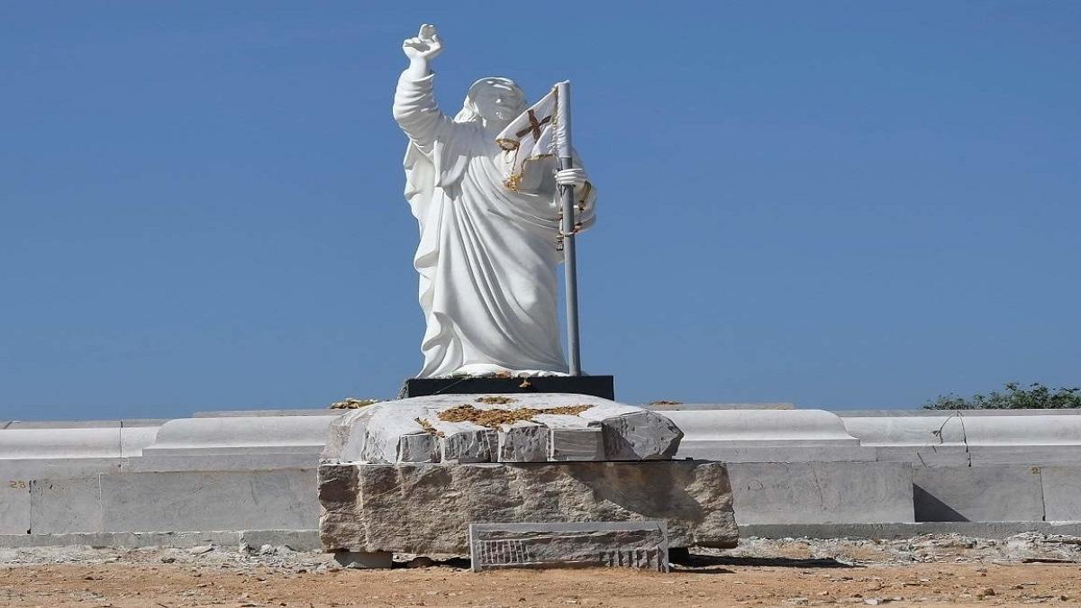 राम पुनियानी का लेखः मूर्तियों की राजनीति का नया अध्याय, कर्नाटक में ईसा मसीह की प्रतिमा पर विवाद