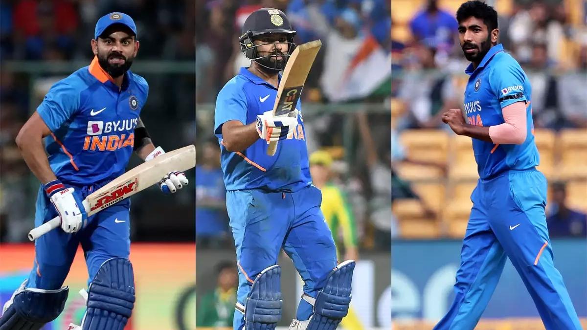 खेल की 5 खबरें: ICC वनडे रैंकिंग में छाए भारतीय खिलाड़ी, कोहली, रोहित और बुमराह की बादशाहत कायम
