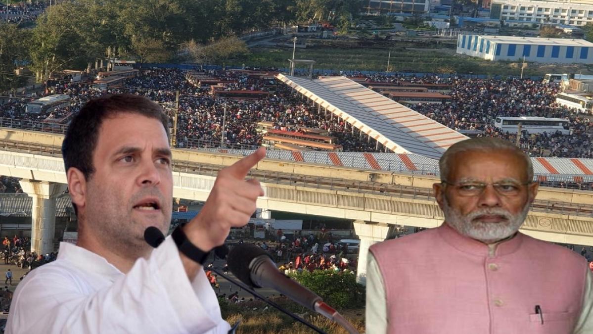 राहुल गांधी ने पीएम को पत्र लिखकर दिए कई सुझाव, कहा- अचानक लॉकडाउन से लोगों में घबराहट और भ्रम पैदा हुआ