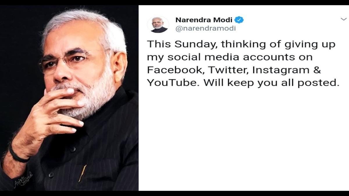 पीएम ने ट्वीट कर किया धमाका, बोले- सोच रहा हूं सोशल मीडिया छोड़ दूं, राहुल का जवाब, नफरत छोड़ दें
