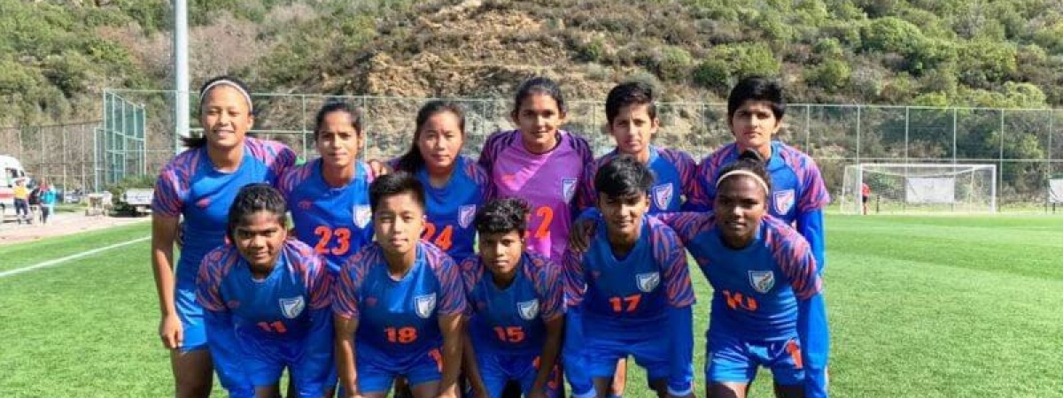 Football: India, Romania U17 women's teams play out high-scoring draw in friendly