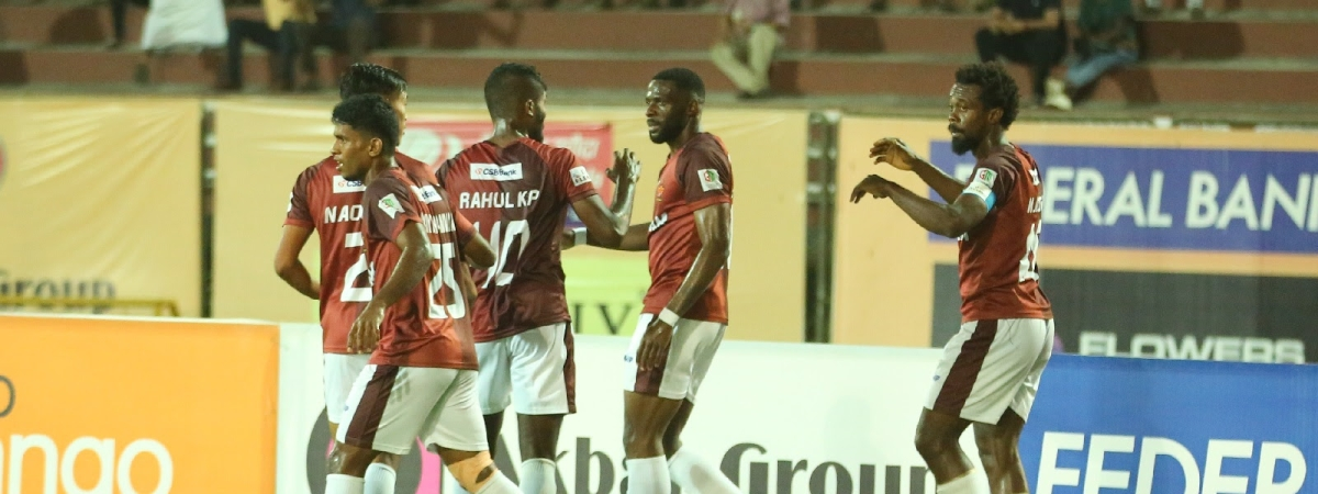 Football  I League:  9-man Gokulam Kerala hold East Bengal