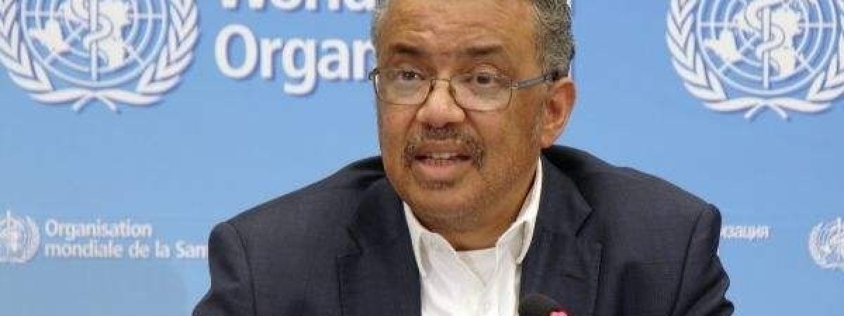 WHO Director-General Tedros Ghebreyesus