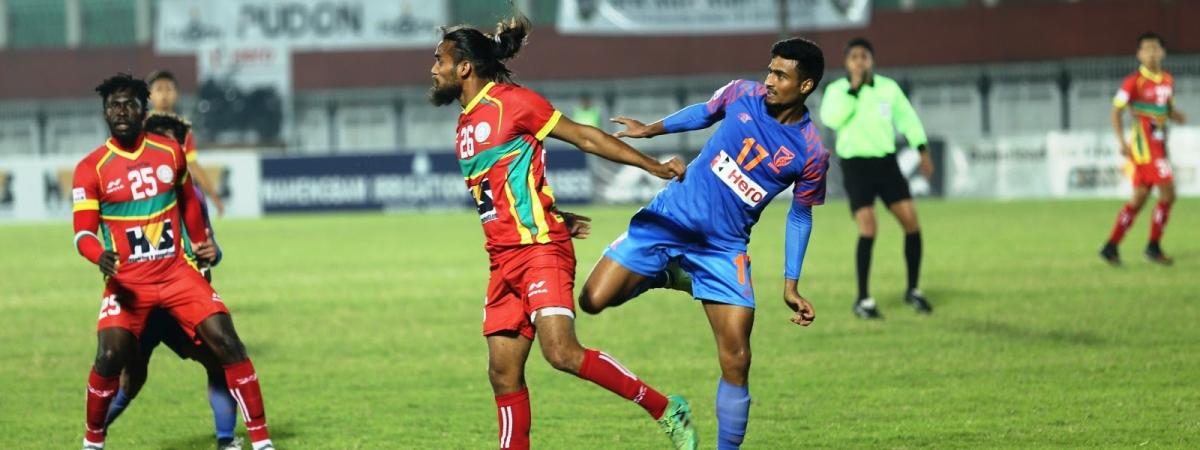 Football: Deepak stunner denies Indian Arrows a point