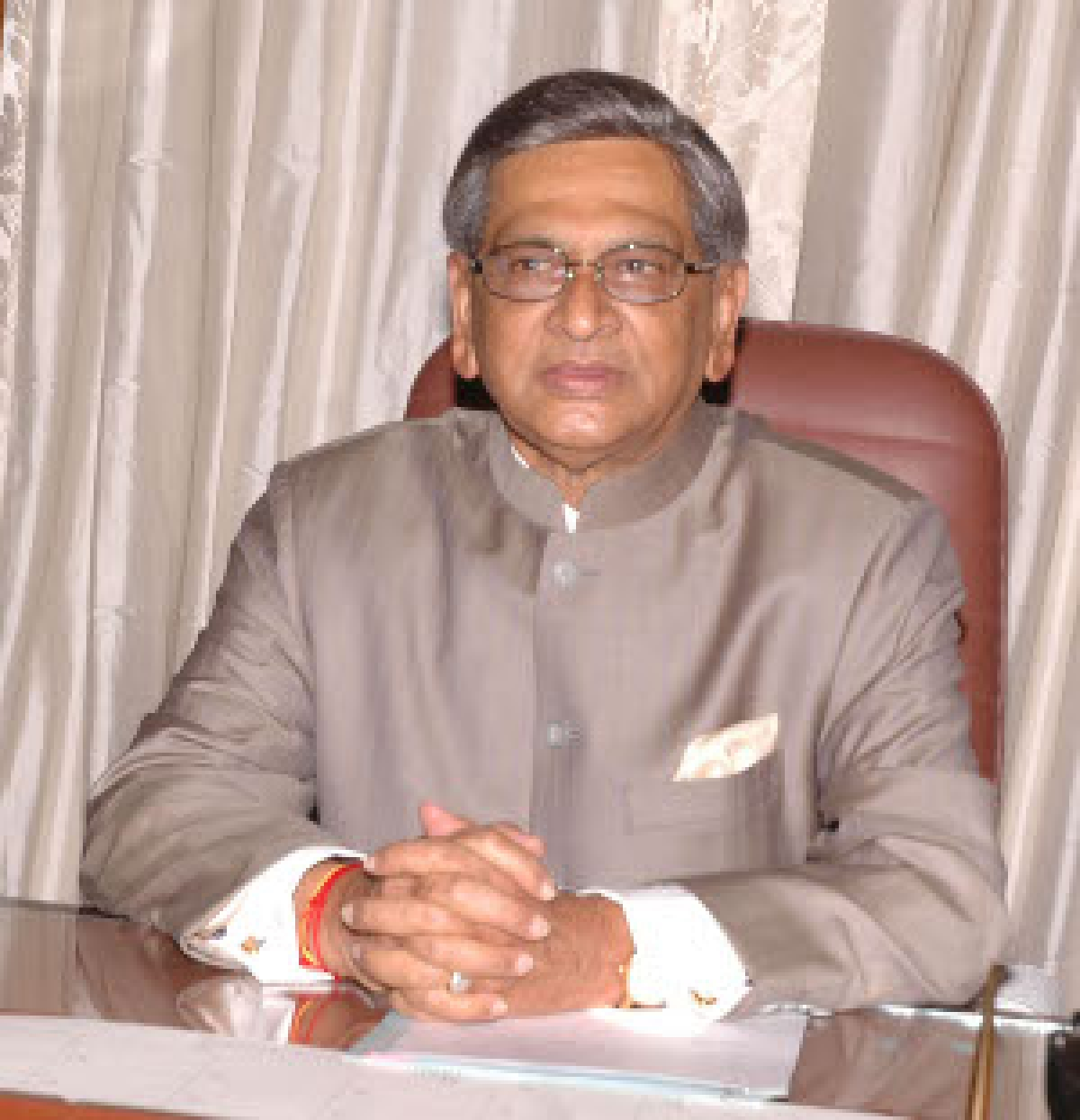File photo of External Affairs Minister S M Krishna