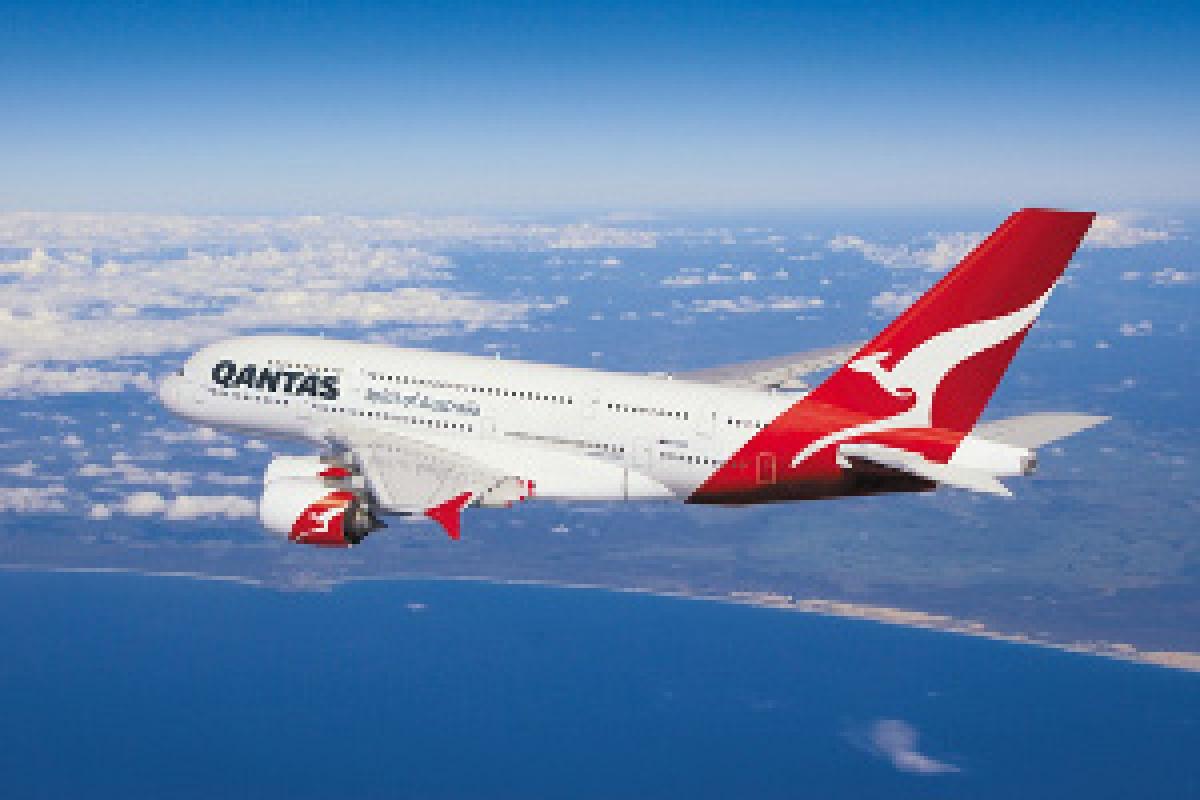 File photo of a Qantas Airbus A380 aircraft.