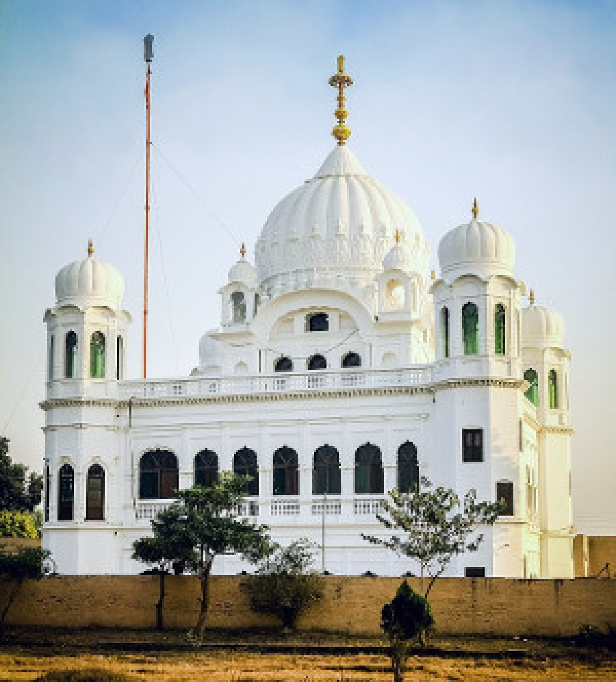 Kartarpur Sahib gurdwara in Pakistan  (Photo: Xubayr Mayo, Wikimedia Commons)
