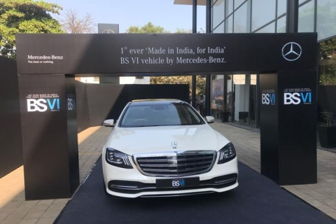 Mercedes-Benz launches India's first BS VI compliant car