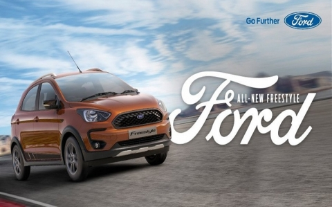 Ford Freestyle: All-New Compact Utility Vehicle from Ford Debuts in India