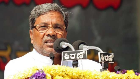 Siddaramaiah appeals for the JDS victory in Mandya