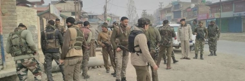 Security forces launch massive search operation in Pulwama