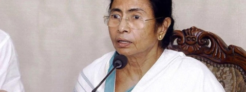 """Protest against the person destroying the country"" : Mamata"