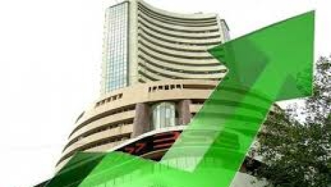 Sensex at all-time high at 32,641.58 pts