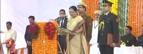Anandiben Patel to take oath as Governor of UP on Monday