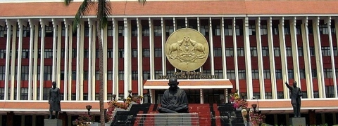 Former Kerala HM brings grenade to State Assembly