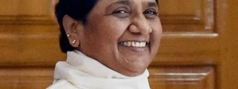 Mayawati campaigns for Pawan Kalyan