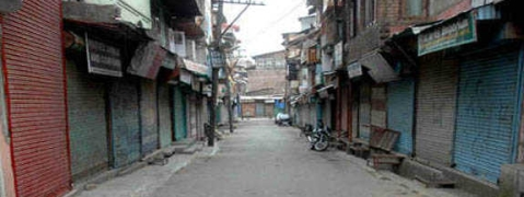 Life crippled in Sopore