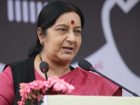 Huge win for India, says Sushma