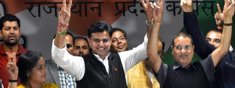 Major setback for the BJP in Rajasthan