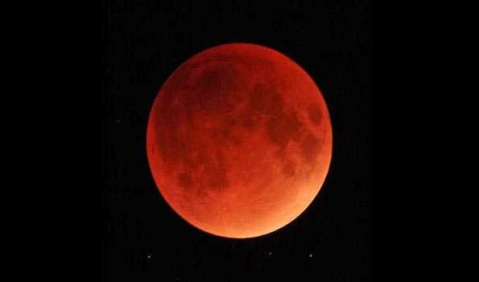 Total lunar eclipse visible from 5.20pm today