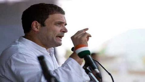 Rahul Gandhi seen frequently talking during President's address