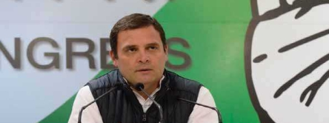 PM should tell Davos why 1pc of India's population holds 73pc of its wealth: Rahul