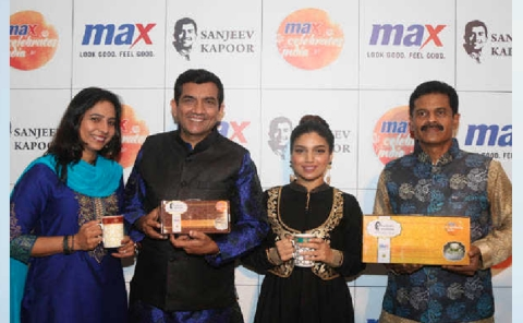 Chef Sanjeev Kapoor unveils Max Fashion's festive collection